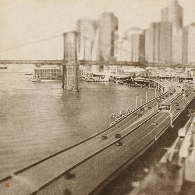 往来ブルックリン橋ニューヨーク〜.jpg